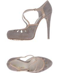 John Galliano Platform Courts - Grey