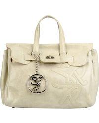 Secret Pon-pon Large Fabric Bag - Lyst