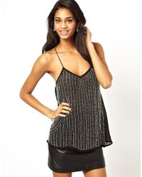 True Decadence - Embellished Cami Top - Lyst