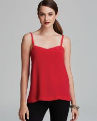 French Connection Tank Silk - Lyst