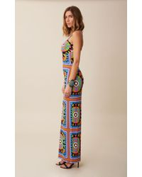 Mara Hoffman Printed Column Maxi Dress - Lyst