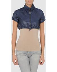 Roberta Scarpa Leather Outerwear - Lyst