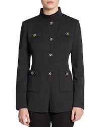 St. John Classic Santana Knit Jacket - Lyst