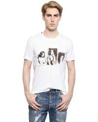 Dolce & Gabbana Cotton Jersey Monica Bellucci T-shirt - Lyst