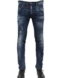DSquared² 165cm Cool Guy Stretch Cotton Jeans - Lyst