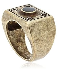 Eddie Borgo - Box Ring - Lyst