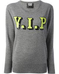 Markus Lupfer 'Vip' Sequin Sweater - Lyst