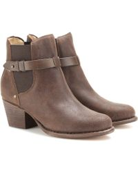 Rag & Bone Durham Nubuck Ankle Boots - Lyst