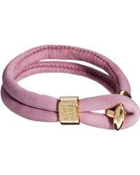 Tokyo Jane - Daisy Twin Leather Bracelet - Lyst