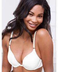 Victoria's Secret White Pushup Bra - Lyst