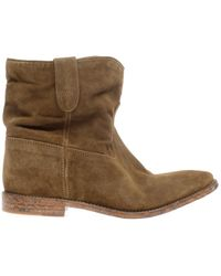 Isabel Marant Crisi Suede Boots - Lyst