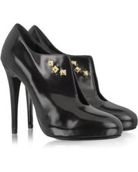 Patrizia Pepe - Black Patent Leather Heeled Womens Shoes - Lyst