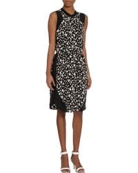 Sea Leopard Print Sleeveless Dress - Lyst