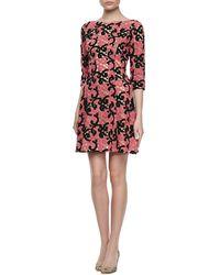 Catherine Malandrino Crochet Lace Cocktail Dress - Lyst