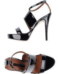 Pinko Platform Sandals - Lyst