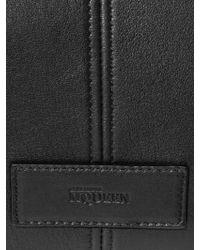 Alexander McQueen Demanta Leather Travel Bag - Black