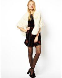ASOS - Exclusive Premium Faux Fur Stole - Lyst