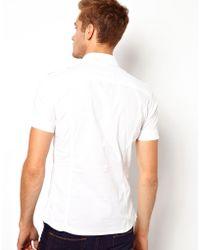 Diesel Shirt Short Sleeve Military Stombol - Lyst