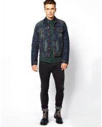 Edwin Denim Jacket Buddy Vintage Wash - Lyst