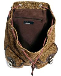 Fred Perry - Leopard Print Backpack - Lyst