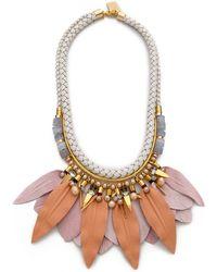 Lizzie Fortunato Sunburnt Daydreams Necklace - Pink