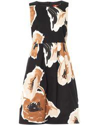 Max Mara Studio Black Basco Dress - Lyst