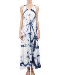 Gilda Midani - Tiedye Long Trapeze Dress - Lyst