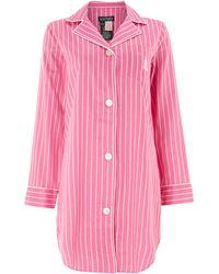 Lauren by Ralph Lauren - Classic Stripe Nightshirt - Lyst