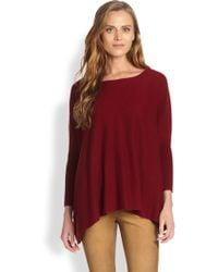 Ralph Lauren Blue Label - Draped Cashmere Sweater - Lyst