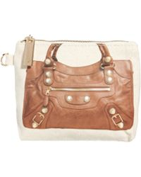 Thursday Friday - Clay Moto Pochette Cosmetic Bag - Lyst