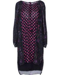 Antik Batik Black Short Dress - Lyst