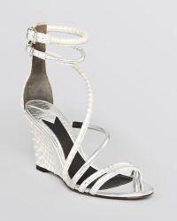 B Brian Atwood - Wedge Sandals Sedini - Lyst
