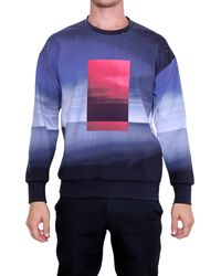 Calvin Klein Dorin Printed Sweatshirt - Lyst