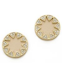 House of Harlow 1960 - Suburst Pave Earrings - Lyst