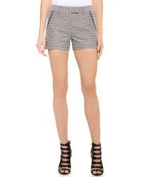 Jason Wu - Tweed Shorts Black - Lyst