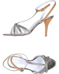 Luca Valentini High-Heeled Sandals - Lyst