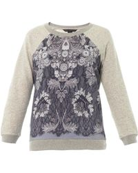 Marc By Marc Jacobs - Lena Printed Sweatshirt - Lyst