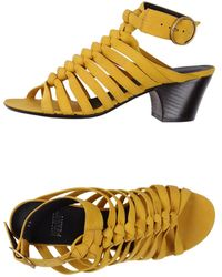 Michel Perry High-Heeled Sandals - Lyst