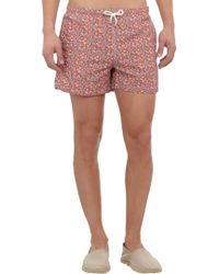 Petronius - Floral Swim Shorts - Lyst