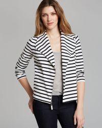 Splendid Jacket Vista Stripe - White