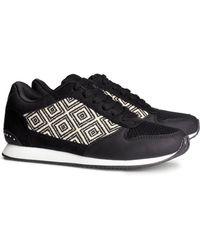 H&M Black Sneakers - Lyst