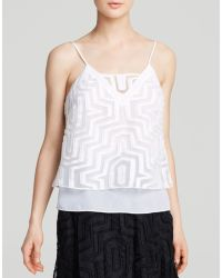 Milly Cami - Aztec Fil Coupe - Lyst