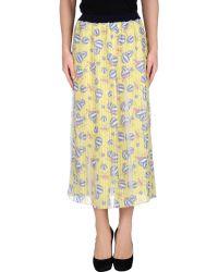 Aimo Richly 3/4 Length Skirt - Lyst