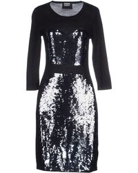 Markus Lupfer Knee-Length Dress black - Lyst