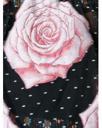 Vivienne Westwood Gold Label | Rose Print Evening Dress | Lyst