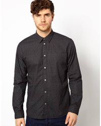Paul Smith Shirt in Pindot Print - Lyst