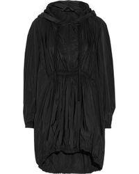 Donna Karan New York Oversized Hooded Shell Parka - Lyst