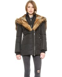 Mackage Akiva Coat  Army - Lyst
