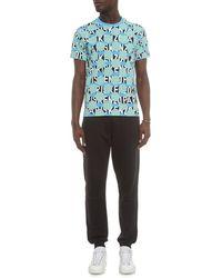 Kenzo Printed Cotton-Jersey T-Shirt - Lyst