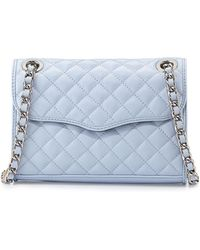 Rebecca Minkoff Mini Affair Quilted-Leather Cross-Body Bag - Lyst